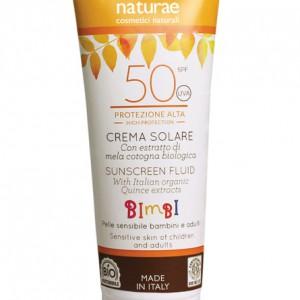 Crema solare - Protezione alta 50 Bambino - Officina Naturae